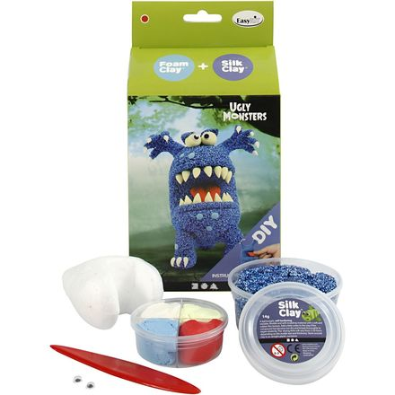 Funny Friends, blauw, monster, 1set