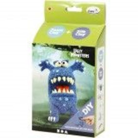 Funny Friends, blauw, monster, 1set - 2