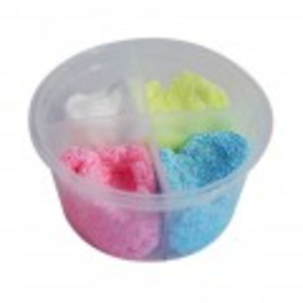 Foam Clay 4 kleuren-set glitter, 80 gram - 2