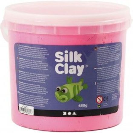Silk Clay®, roze, 650gr