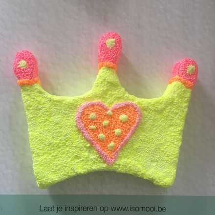 Foam clay basic prinsessenkroontje - 2